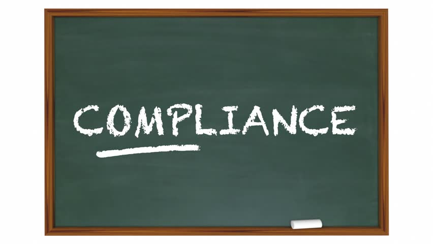 Compliance Training Education Rules Laws Chalkboard 3d Animation | Shutterstock HD Video #19357780