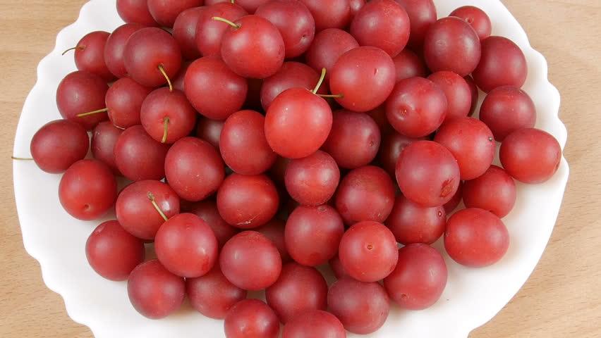 Header of cherry plum