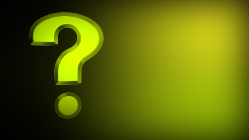 Stock Video Of Question Mark Icon Loopable Background 194500
