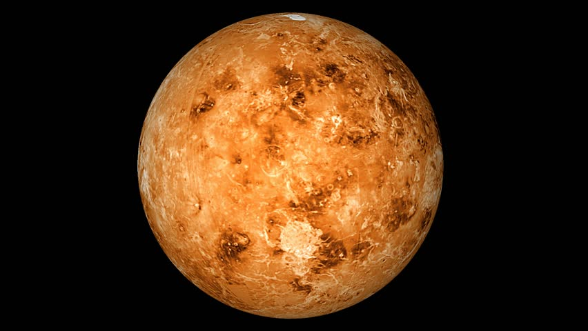 venus planet rotating moving animated - photo #3