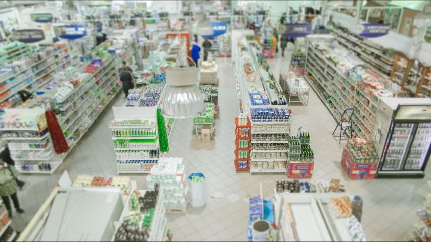 Store. Grocery Shopping, TimeLapse | Shutterstock HD Video #19454029