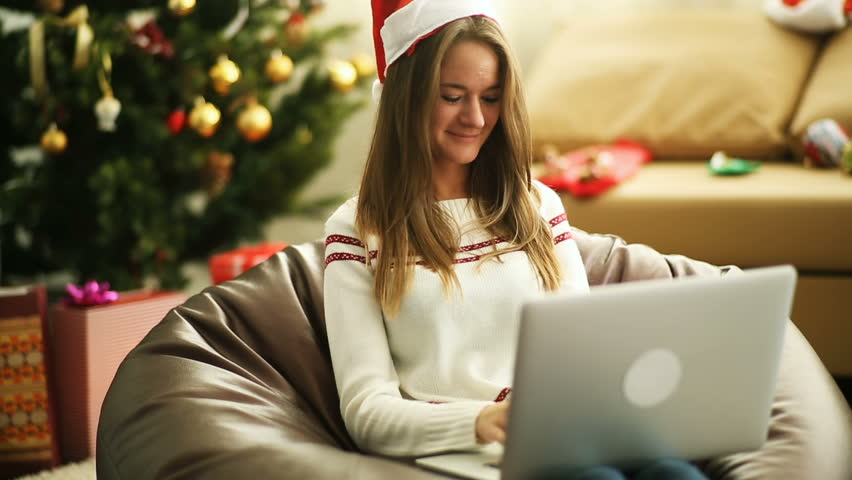 christmas shopping online stock footage video 4551701 shutterstock