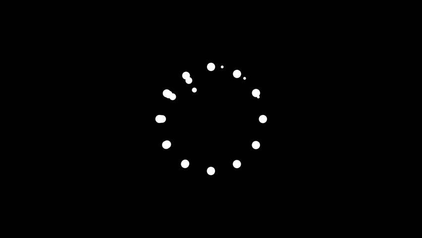 Futuristic Buffering Symbol #19608400