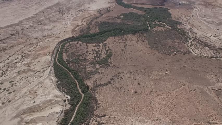 Lower Jordan - Jordan River valley (North to South)