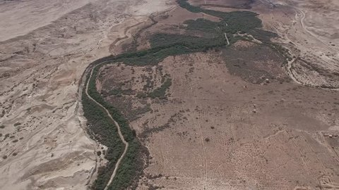 Lower Jordan - Jordan River valley (North to South)