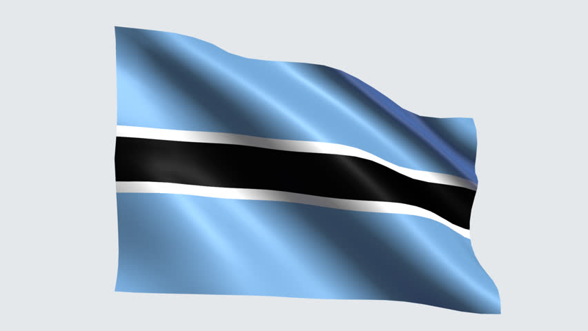 Botswana Flag with Transparent Background Stock Footage Video (100%  Royalty-free) 19655740 | Shutterstock
