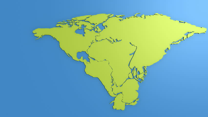 Pangaea Stock Footage Video Shutterstock - Pangaea map