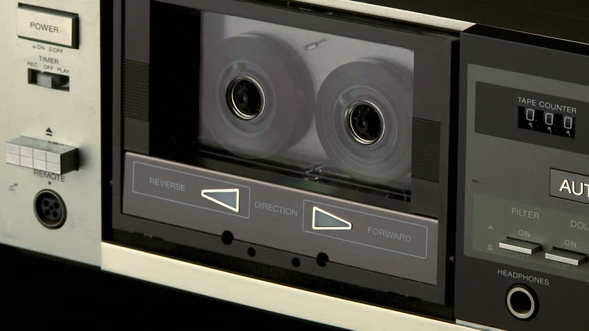 Operating a component audio cassette player, recorder.