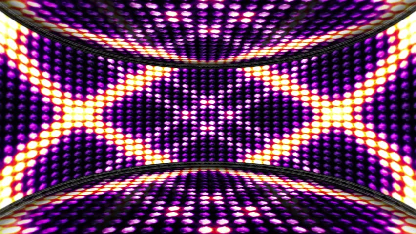 Squares Bulb Lights Room Background, Loop, 4k  | Shutterstock HD Video #19857130