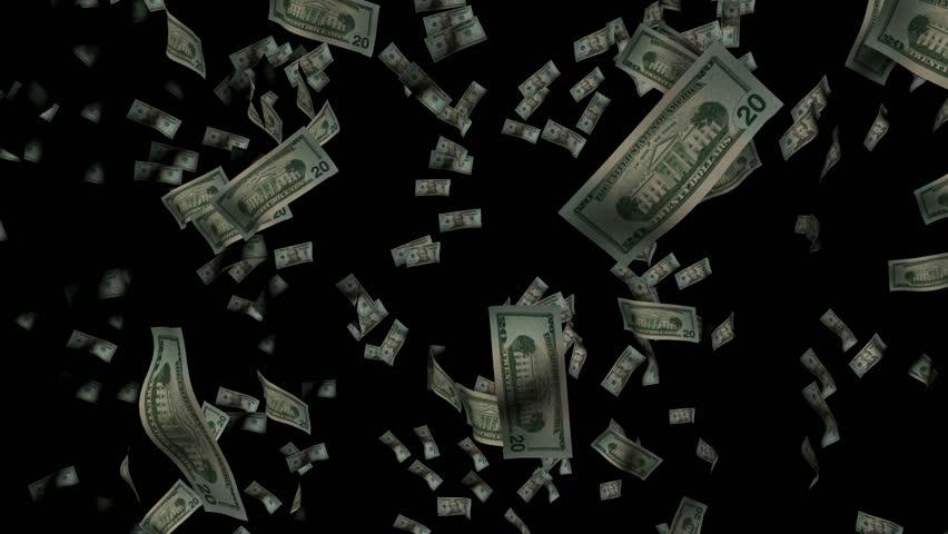 Stock Video Clip of Raining Money   Shutterstock