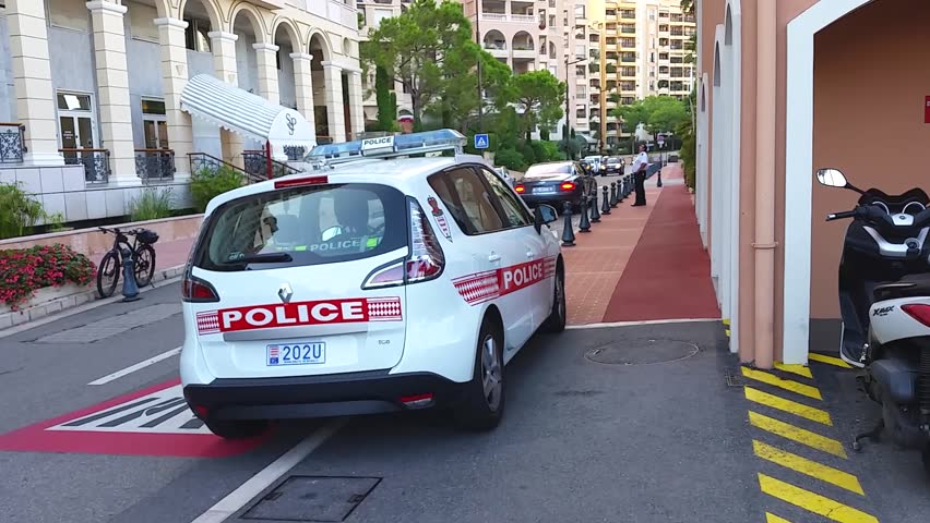 Fontvieille Monaco September 29 2016 Renault Scenic Iii Tce