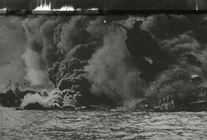 UNITED STATES - CIRCA 1942-1944: World War II, Pearl Harbor Attack Aftermath