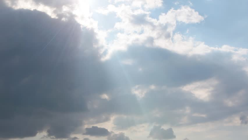 Light rays through clouds 1080p #2014850