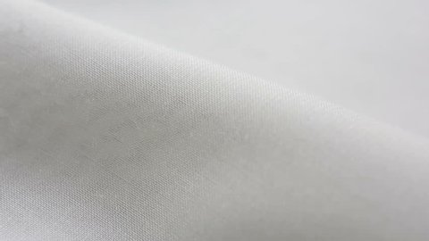 White Cotton Fabric Texture. It can be used as a background