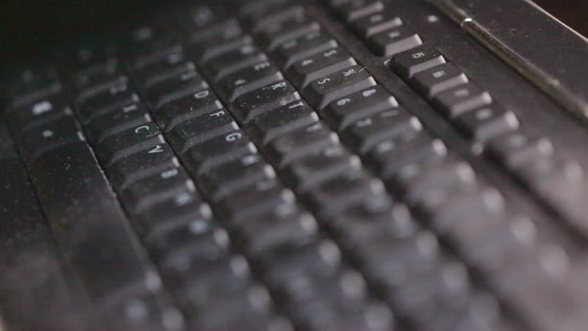 In italy blur abstract keyboard with noise and dirty real work background | Shutterstock HD Video #20239840