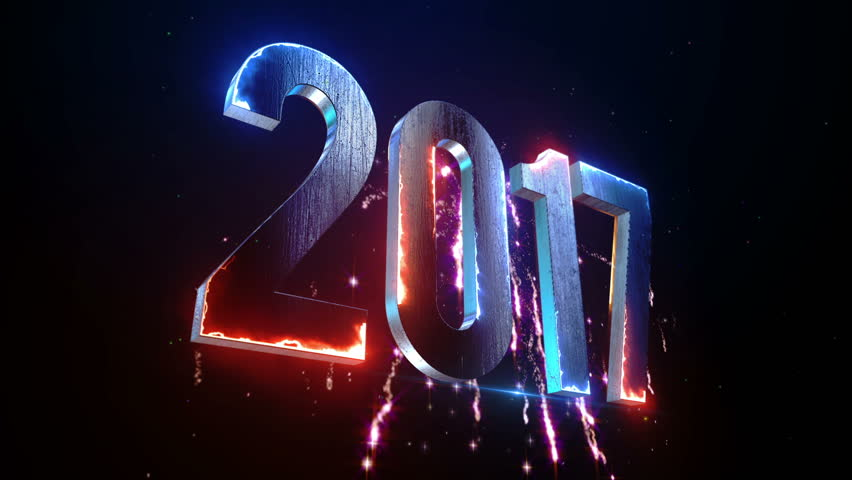 New Year 2017 Animation. 2017 New Year animation. Best for New Year's Eve, friends party, and other event. | Shutterstock HD Video #20256391