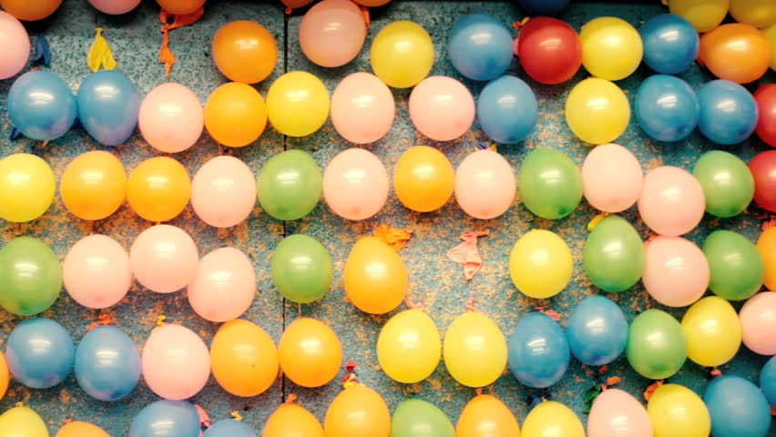 Background Of Classic Balloon Dart Stock Footage Video 100 Royalty