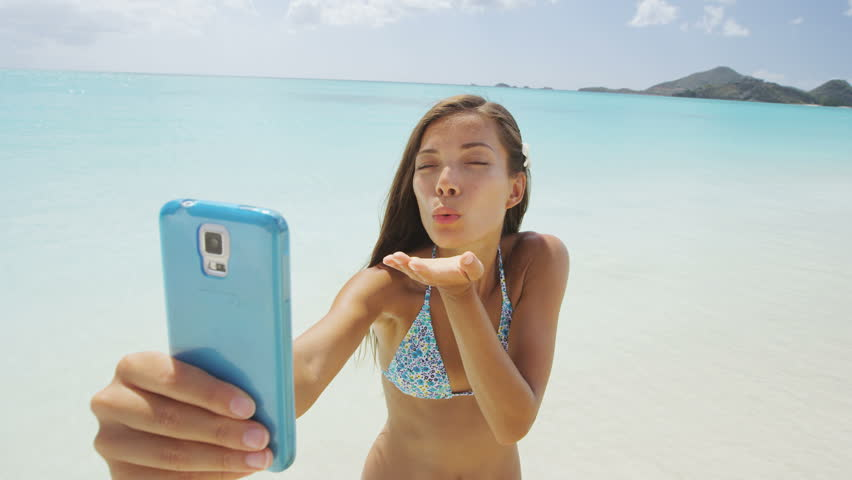 Beach Selfies Sexy Girls Photos