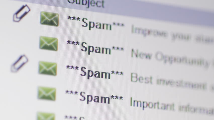 Spam emails in inbox