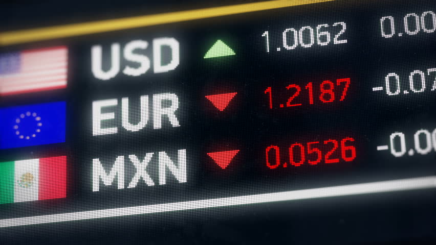 Mexican Peso, Us Dollar, Euro Stock Footage Video (100% Royalty-free)  20522050 | Shutterstock