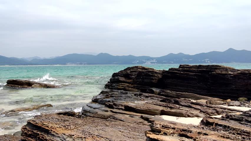 Tung Ping Chau Island in Hong Kong | Shutterstock HD Video #20525410