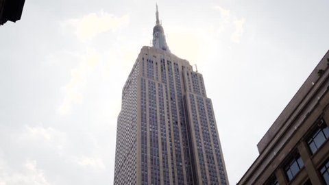 Towering Upward Angle Of Empire