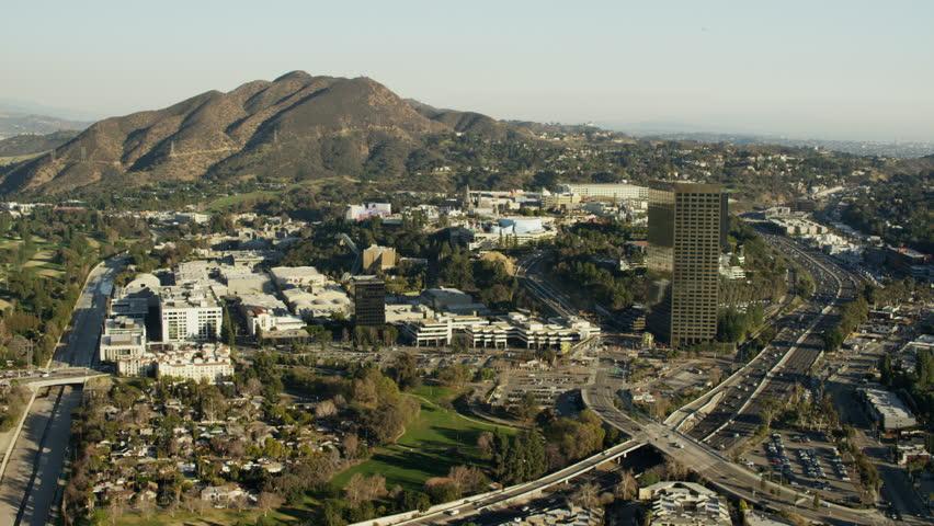 Stock Video Of Las Vegas Desert City Aerial Shot