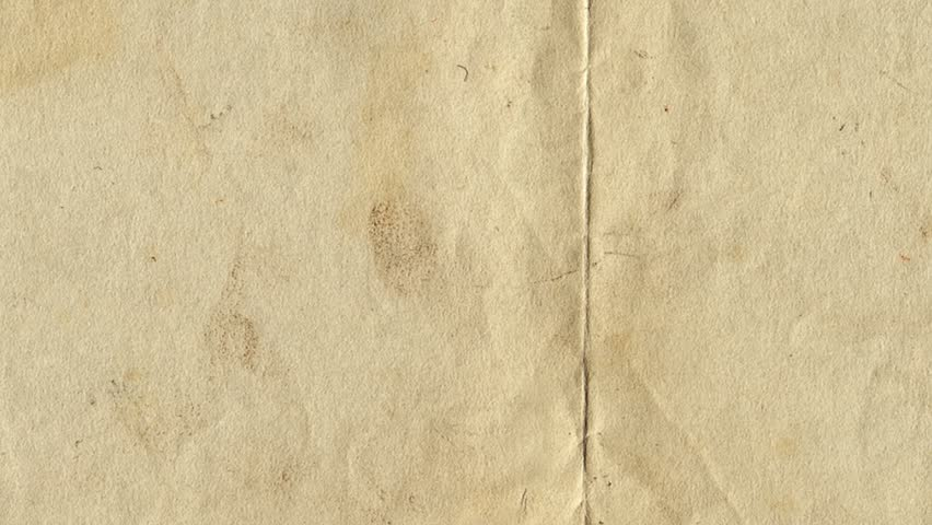 Paper Texture Brown Paper Sheet. Video Animation