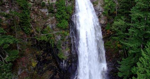 Close Up Raging Water Falls