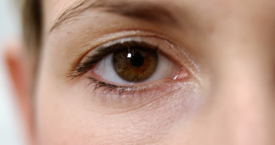 3ff9513fb30 Close-up of Woman Eye in Stock Footage Video (100% Royalty-free ...