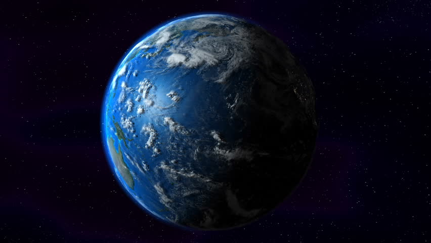Earth, South America zoom.