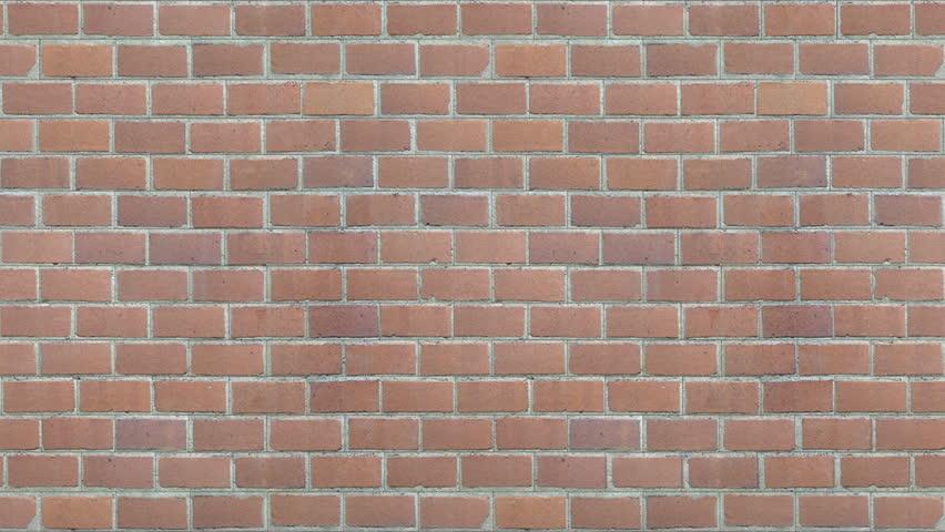breaking red brick wall