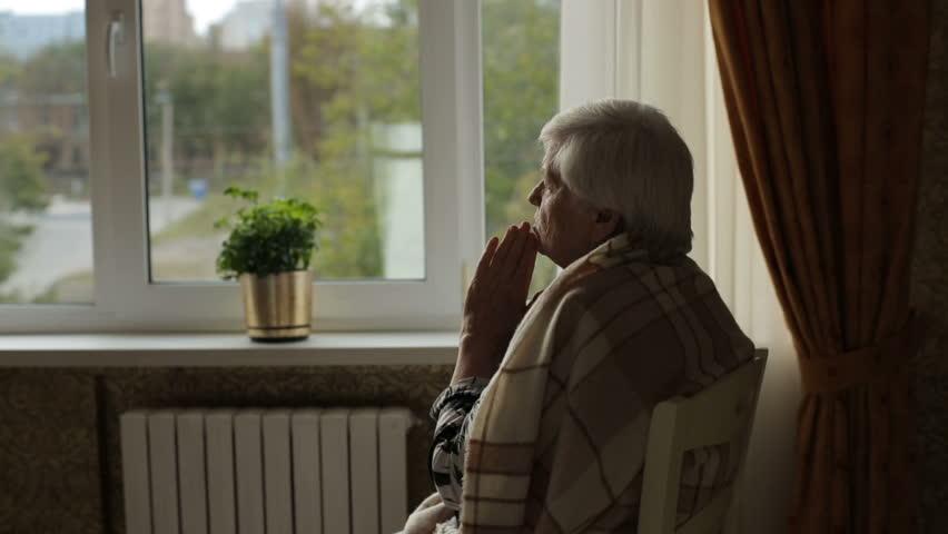 Prayer of old woman