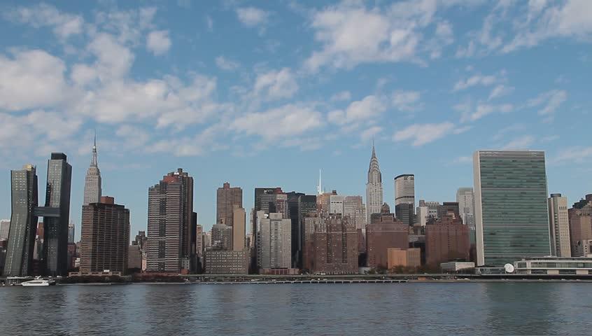 New York Skyline from Queens | Shutterstock HD Video #20865505