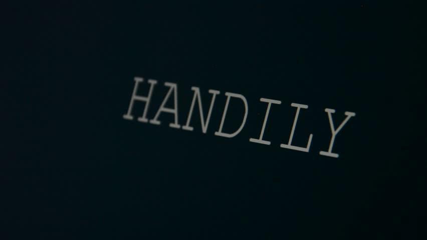 Header of handily