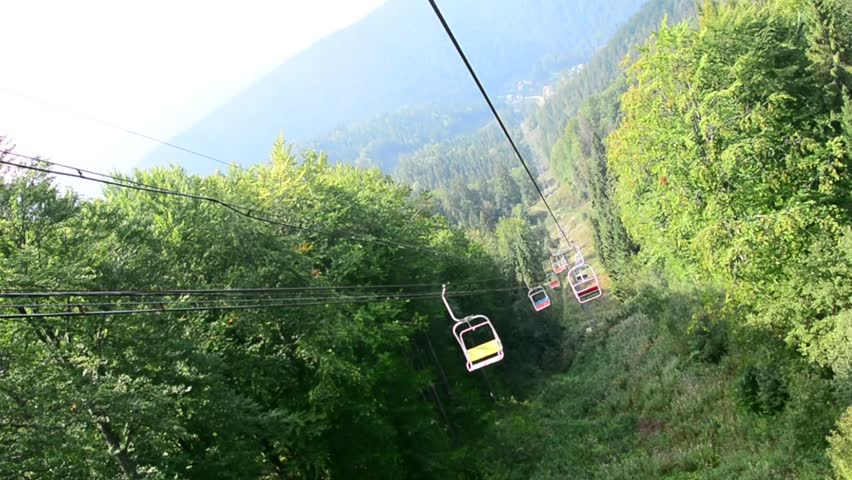 The cable car to the mountain | Shutterstock HD Video #20995327