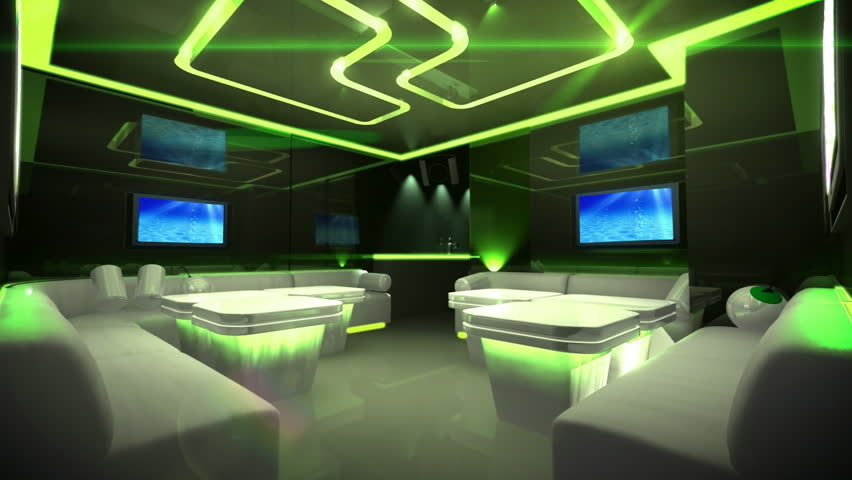the electronic future style of 3d scene with Led color changing,good for apply in disco theme and virtual scene background.