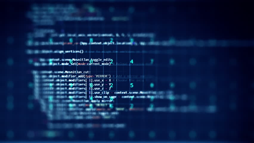 Loopable footage of Programming code abstract technology background for  software developer and  Computer script concept  | Shutterstock HD Video #21056476