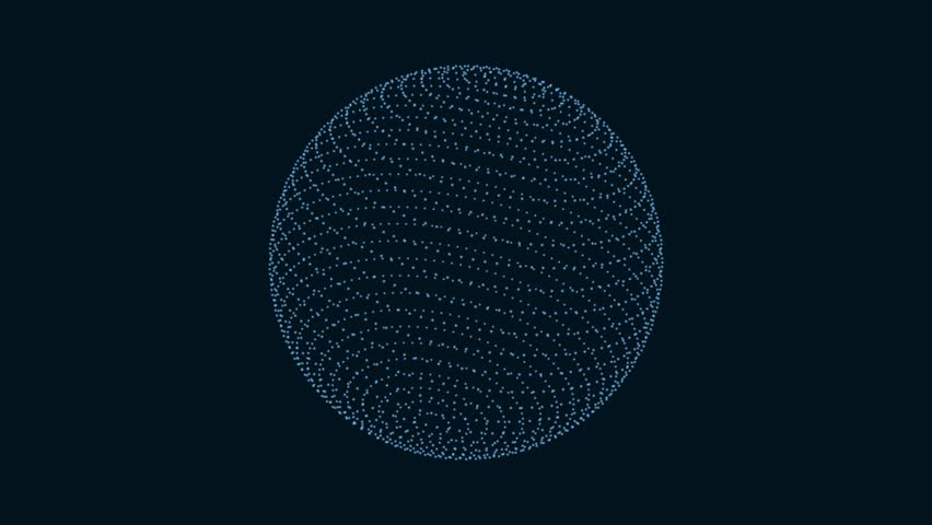 Motion of abstract sphere | Shutterstock HD Video #21059710
