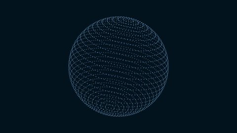 Motion of abstract sphere