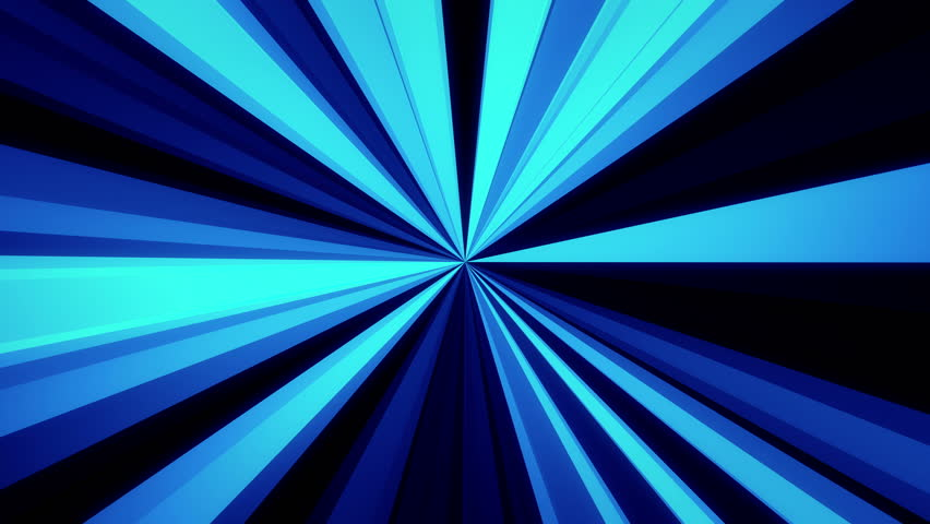 Abstract Glowing Light Rays Blue Stock Footage Video 100