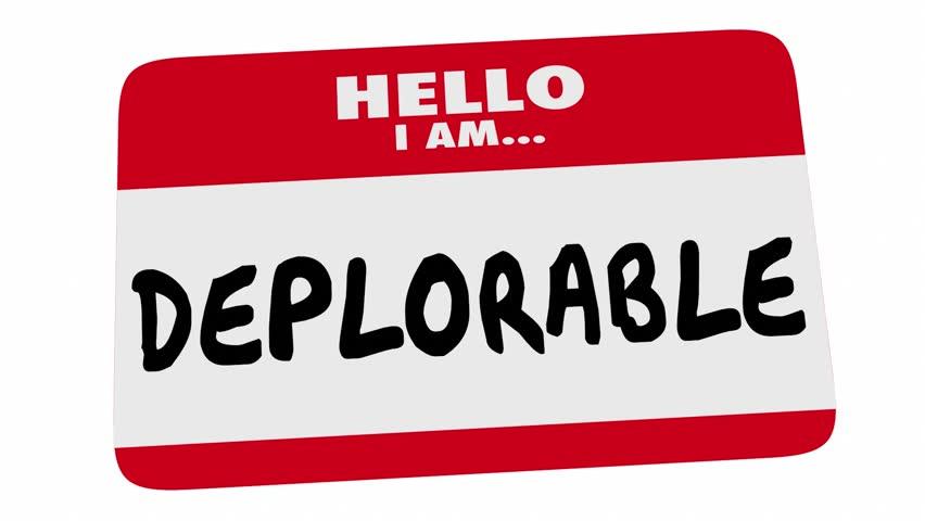 Header of deplorable