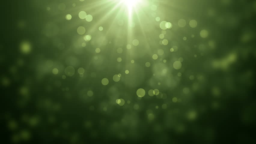 soft beautiful blue and green backgrounds.moving gloss particles, Powerpoint templates