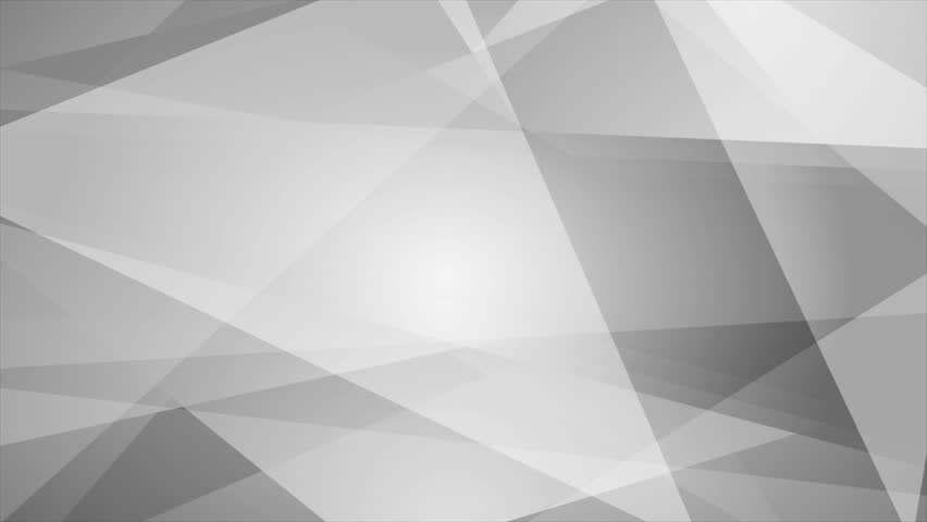 Grey abstract tech geometric motion background. Video animation Ultra HD 4K 3840x2160