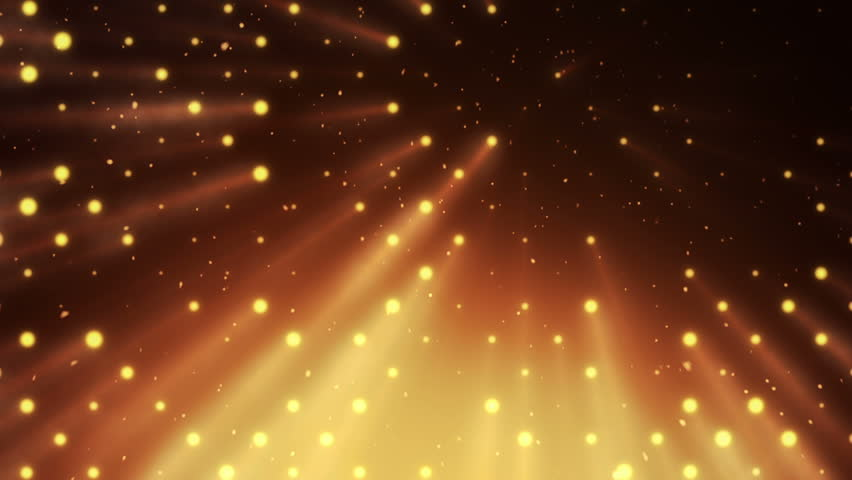 Abstract background with wall from lamps of bright light. Glowing and bright light bulbs. Projector of light rays. Animation of seamless loop. | Shutterstock HD Video #21158890