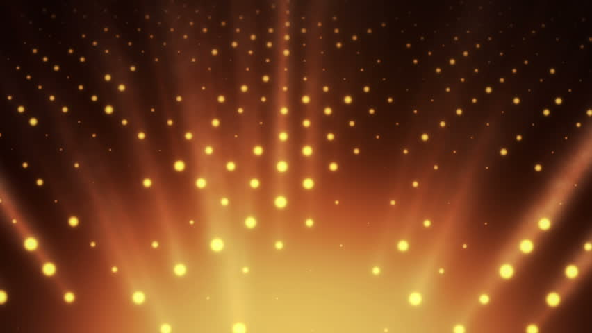 Abstract background with wall from lamps of bright light. Glowing and bright light bulbs. Projector of light rays. Animation of seamless loop. | Shutterstock HD Video #21158920