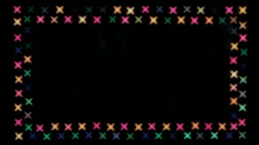flashing frame of Boke as crosses   Shutterstock HD Video #21166750