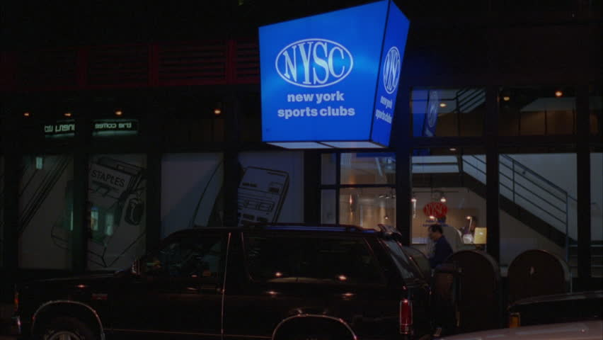 Night New York Sports Club Gym New York | Shutterstock HD Video #21200260