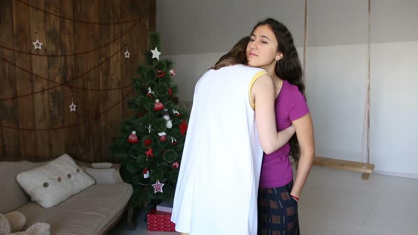 Night dress girl image clip