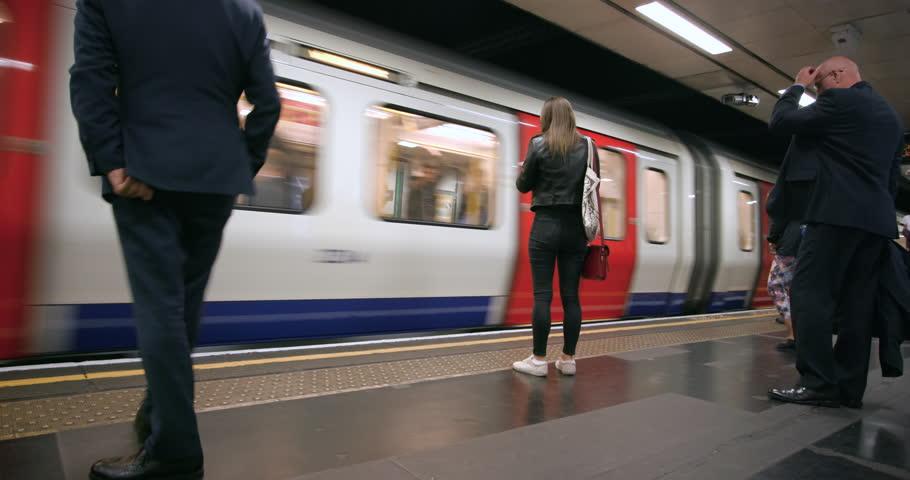 UNITED KINGDOM, LONDON - SEPTEMBER 2016: St James'S Park Underground Station; London England